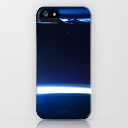 1473. Comet Lovejoy is visible near Earth's horizon iPhone Case