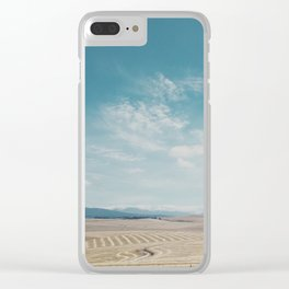 Overberg farmlands, South Africa Clear iPhone Case