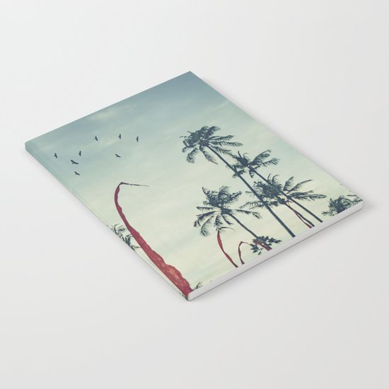 Coconut - Palms and Flags Notebook