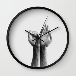 Forearms, inverted Wall Clock