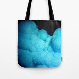 Dreamy Cotton Candy Blue Gemstone Tote Bag