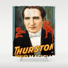 Vintage poster - Thurston Shower Curtain