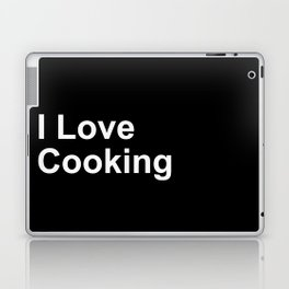 I Love Cooking Laptop & iPad Skin