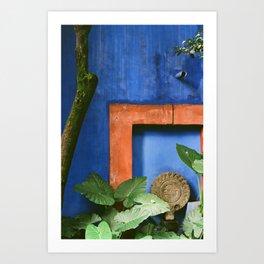 Casa Azul Art Print