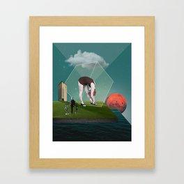 Feeling Boxed In Framed Art Print