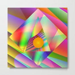 Point of illumination Metal Print