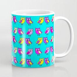 Owls turquoise Coffee Mug
