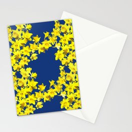 Daffodil Print Stationery Cards
