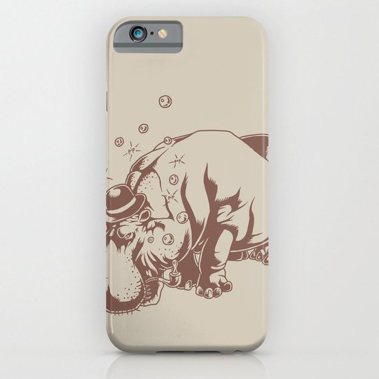 Hippo-Thesis iPhone & iPod Case