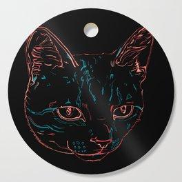 Tabby Kitty Cutting Board