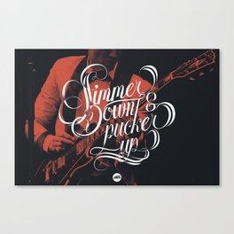 Simmer Down Canvas Print