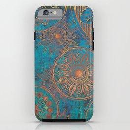Mandala mantra pattern iPhone Case