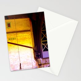cable dance Stationery Cards