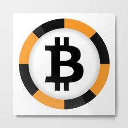 Bitcoin 10 Metal Print