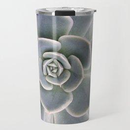 Succulent Leaf Close Up Photography | Plant | Cactus | Botanical Travel Mug