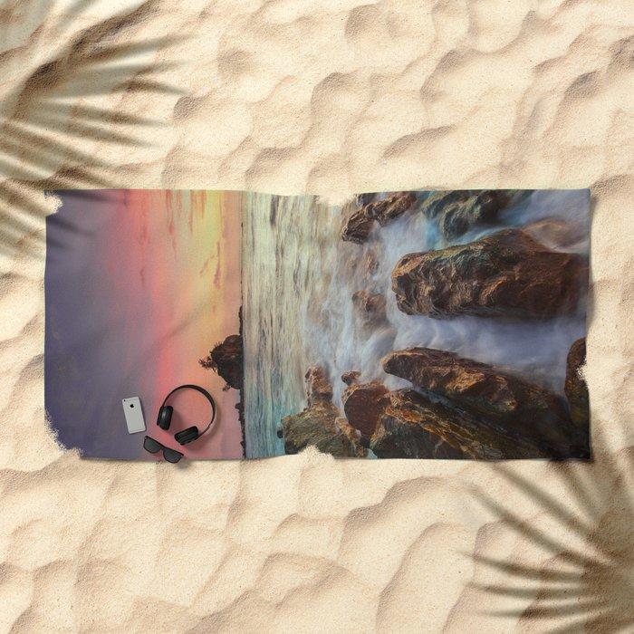 Sea Rock Beach Towel