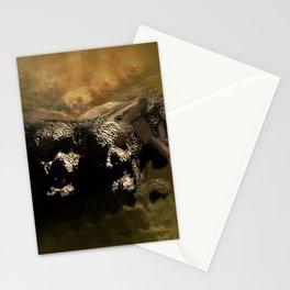 Warrior mind control fantasy magic illustration Stationery Cards