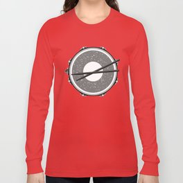 Drum with drumsticks Long Sleeve T-shirt