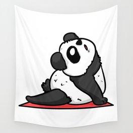 Fitness panda Wall Tapestry