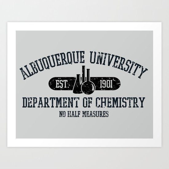Respect the Chemistry Art Print