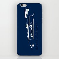 f1 iPhone & iPod Skins featuring MINIMAL F1 COLLECTION by Daniele Sanfilippo
