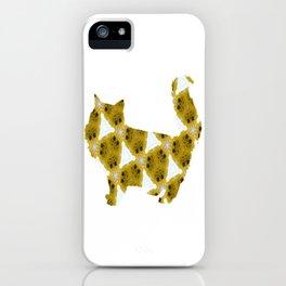 Cat 323 iPhone Case
