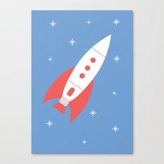 #78 Rocket Canvas Print