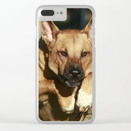 Jump, Tanner! Clear iPhone Case