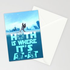 Hoth is Where it's At-At Stationery Cards