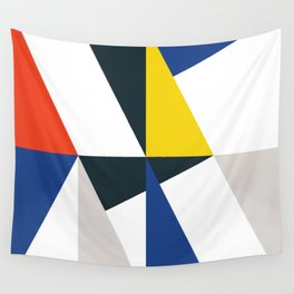 Mid Century Primary 01 Wall Tapestry