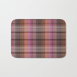 Pattern the cage 1 .  Pink , brown. Bath Mat