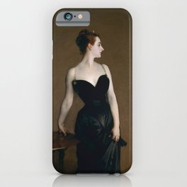 Madame X by John Singer Sargent iPhone Case