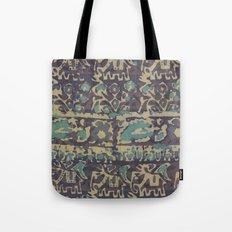 Elephant Batik Tote Bag