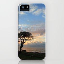Lone Tree in Hawaii iPhone Case