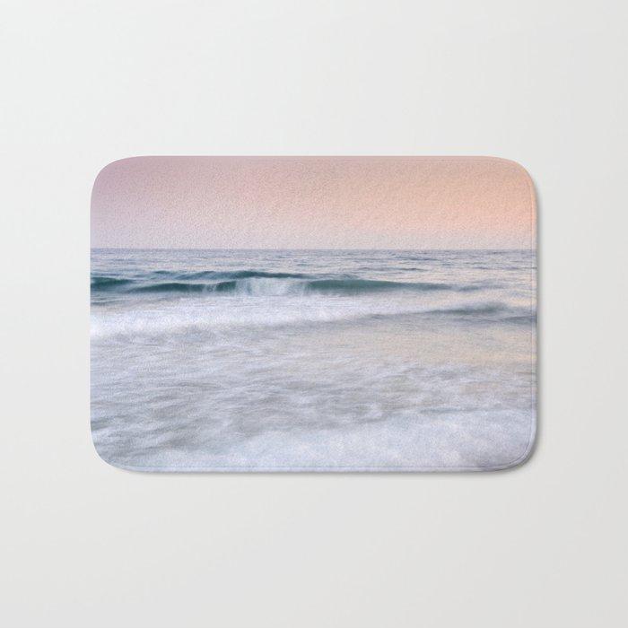 """""""Pink sunset"""". Summer dreams.... Bath Mat"""