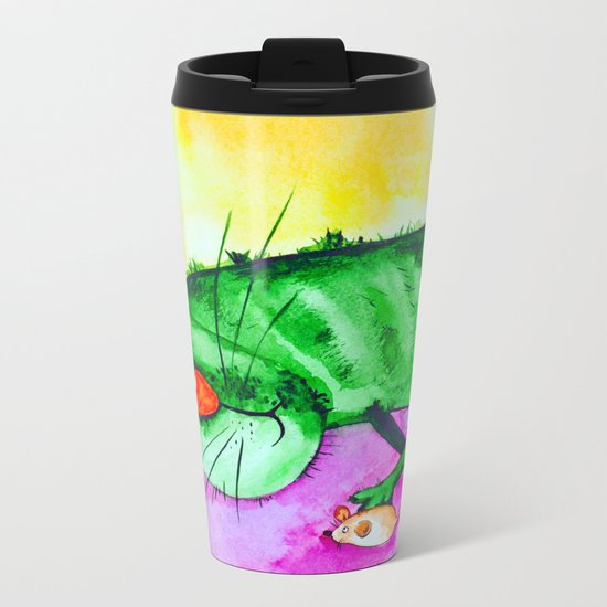 Lazy Metal Travel Mug