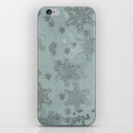 Snowflake Chrismas design iPhone Skin