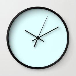 Light Cyan Wall Clock