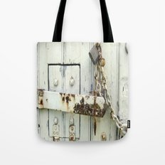 Latched Tote Bag