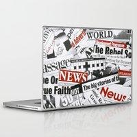 daenerys Laptop & iPad Skins featuring News Branded by bimorecreative