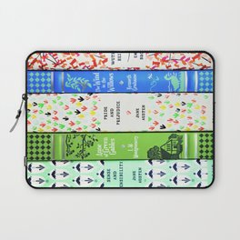 Pretty Book Stack - Part 1 Laptop Sleeve