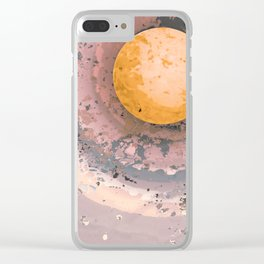 Dust 02 - Post Biological Universe Clear iPhone Case