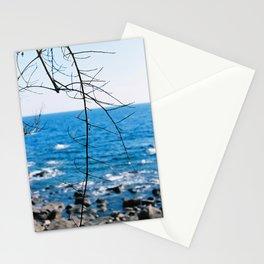 Blue blue ocean Stationery Cards
