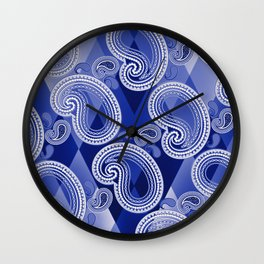 Slip And Slide Wall Clock