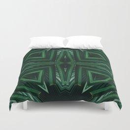 Kaleido Palm Duvet Cover