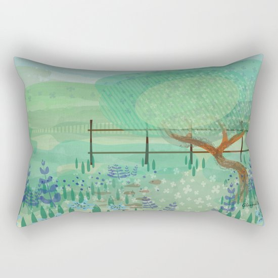 Country Lane Rectangular Pillow