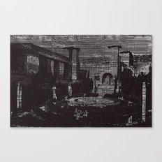 Digital Memories Canvas Print