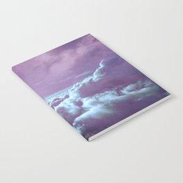 Mystic Clouds Lavender Aqua Notebook