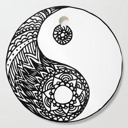 Tangled Yin Yang Cutting Board