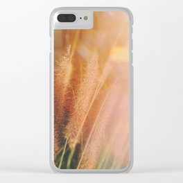 touch of light Clear iPhone Case